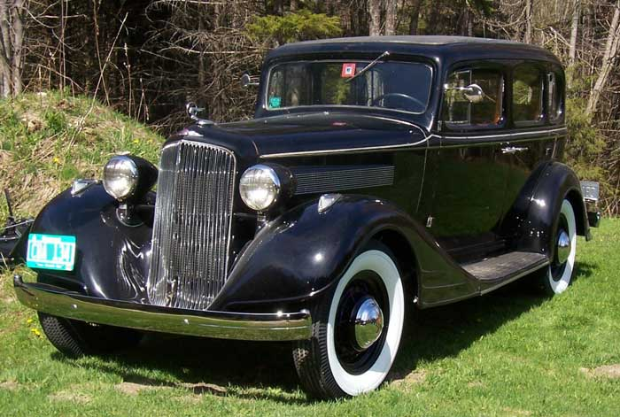 '34 owned by Huck Mundell