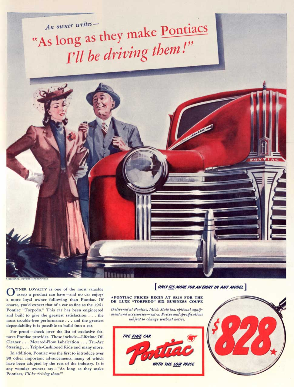 1941 As long as they make Pontiacs